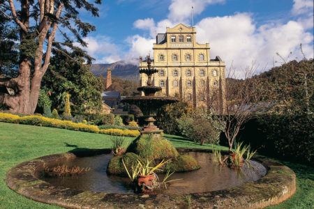 Gardens surrounding the Cascade Brewery in Hobart