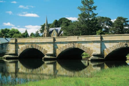 The Ross bridge in Ross, Tasmania
