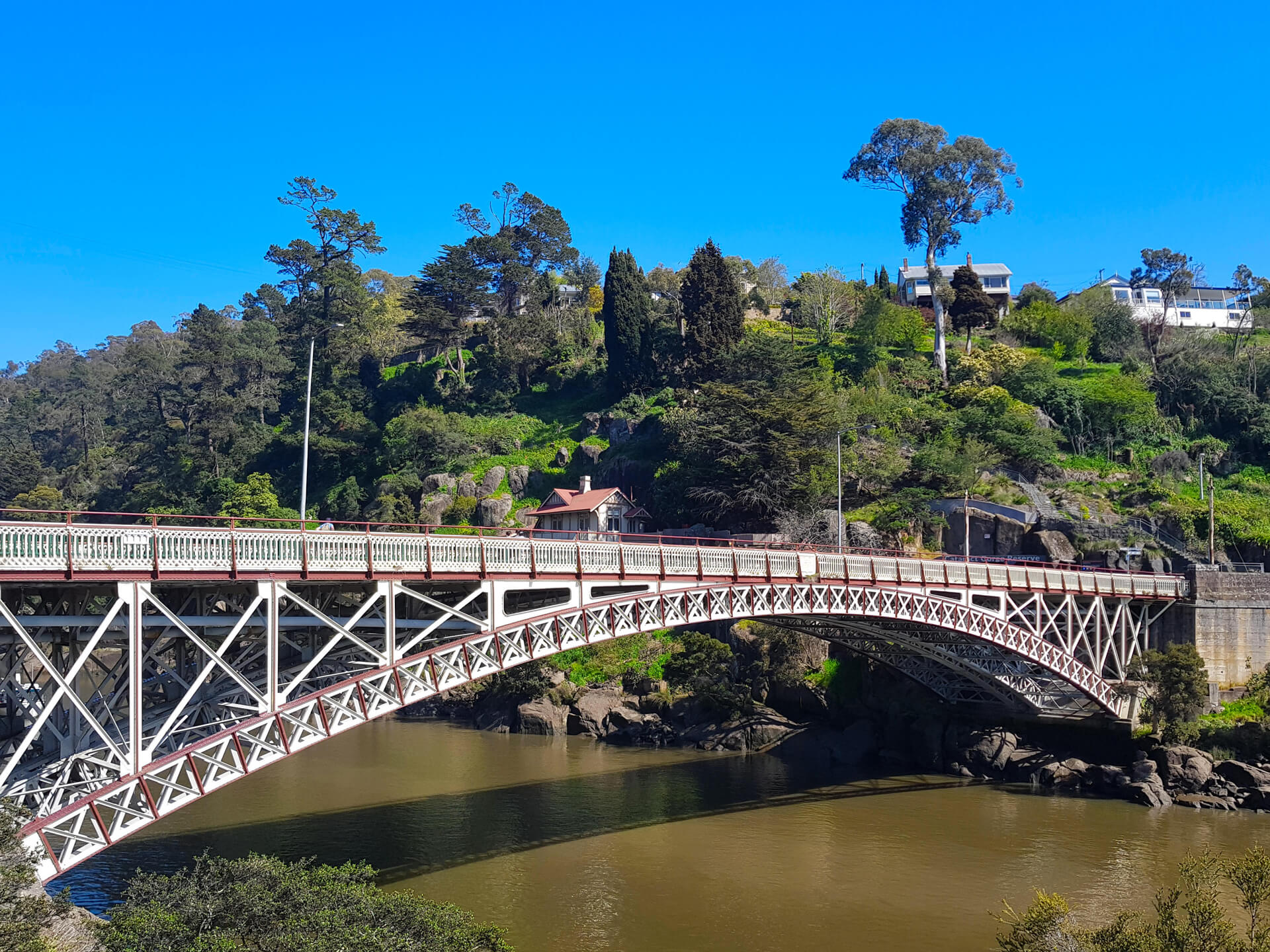 King Bridge in Launceston