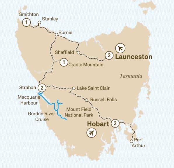 Tas STWW Map