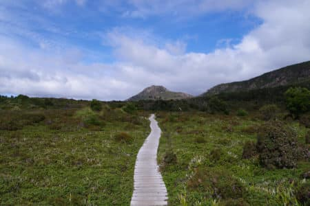 Cradle Mountain walking trails Tasmania