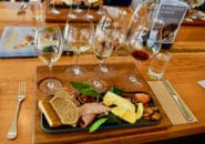 lunch at a winery