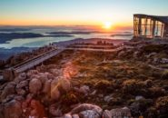 Sunrise from the summit of Mt.Wellington TAS